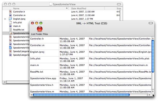 Display XML (CSS)