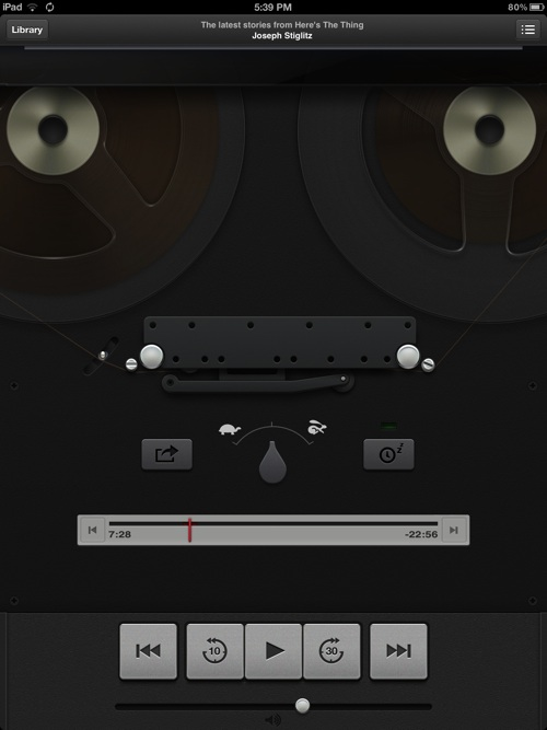 Podcasts UI